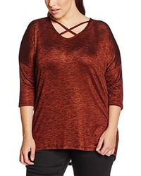 Camiseta Marrón de New Look Curves
