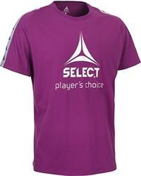 Camiseta morado de Select