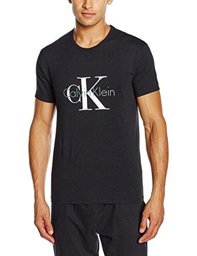 Camiseta De Klein Camiseta Calvin Calvin Negra De Negra Klein Negra Camiseta N0On8vmw
