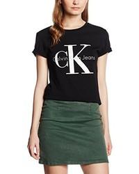 Camiseta negra de Calvin Klein