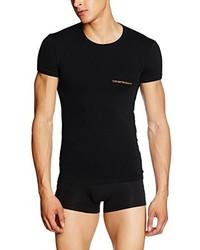 Camiseta negra de Emporio Armani