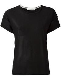 Camiseta negra de Golden Goose Deluxe Brand