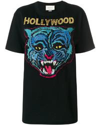 Camiseta Negra de Gucci