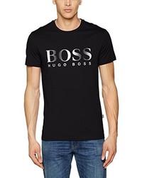 Camiseta negra de Hugo Boss