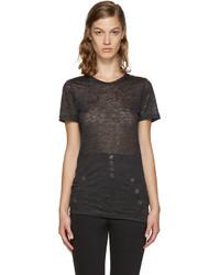 Camiseta Negra de Isabel Marant