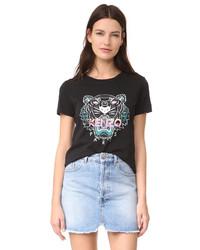 Camiseta negra de Kenzo