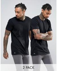 Camiseta negra de Lacoste