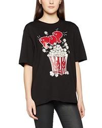 Camiseta negra de Moschino