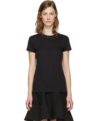Camiseta negra de Valentino