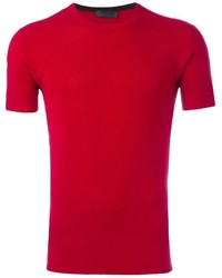 Camiseta Roja de CNC Costume National