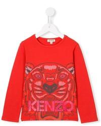 Camiseta roja de Kenzo