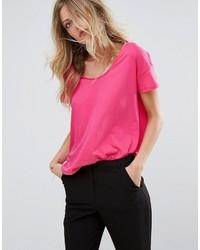 Camiseta rosa de Mango