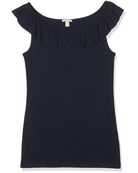 Camiseta sin manga azul marino de Esprit