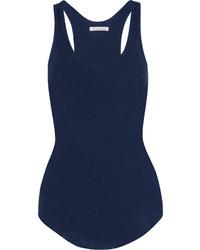 Camiseta sin manga azul marino de Etoile Isabel Marant