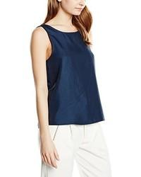 Camiseta sin manga azul marino de Vero Moda