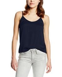 Camiseta sin manga azul marino de Vila