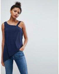 Camiseta sin manga azul de Asos