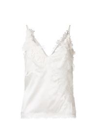 Camiseta sin manga blanca de Ermanno Scervino