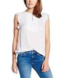 Camiseta sin manga blanca de Tommy Hilfiger