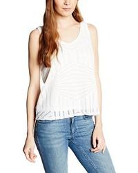 Camiseta sin manga blanca de Vero Moda