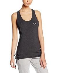 Camiseta sin manga en gris oscuro de Puma