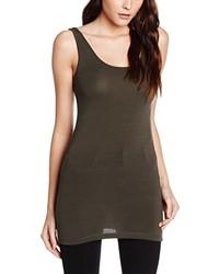 Camiseta sin manga en gris oscuro de Vero Moda