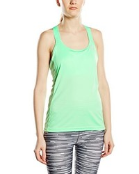 Camiseta sin manga en verde menta de adidas