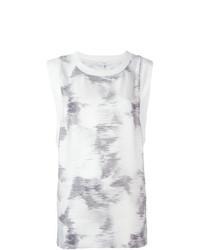 Camiseta sin manga estampada blanca de IRO