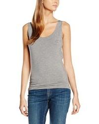 Camiseta sin manga gris de Tommy Hilfiger