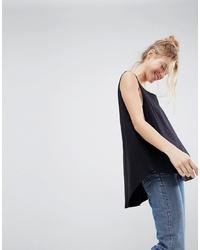 Camiseta sin manga negra de ASOS DESIGN