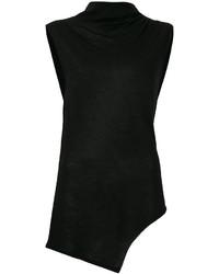 Camiseta sin manga negra de Etoile Isabel Marant