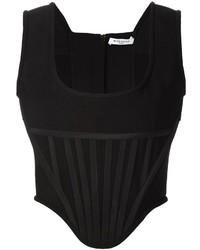 Camiseta sin manga negra de Givenchy