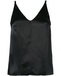 Camiseta sin manga negra de Golden Goose Deluxe Brand