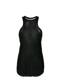 Camiseta sin manga negra de Haider Ackermann