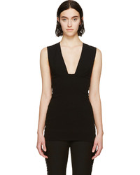 Camiseta sin manga negra de Isabel Marant