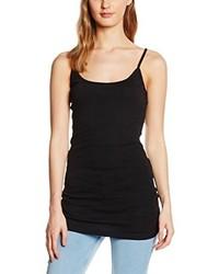 Camiseta sin manga negra de New Look