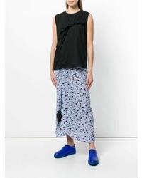 Camiseta sin manga negra de Marni