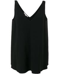 Camiseta sin manga negra de Stella McCartney
