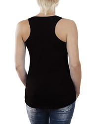 Camiseta sin manga negra de Touchlines