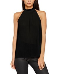 Camiseta sin manga negra de Vero Moda