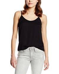 Camiseta sin manga negra de Vila