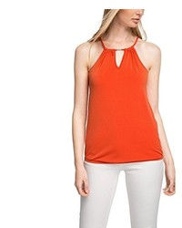 Camiseta sin manga roja de ESPRIT Collection