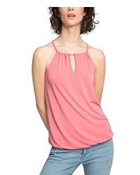 Camiseta sin manga rosada de ESPRIT Collection