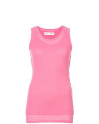 Camiseta sin manga rosada de Proenza Schouler