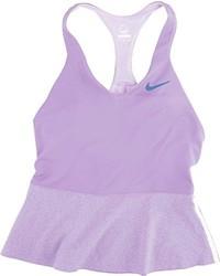 Camiseta sin manga violeta claro de Nike