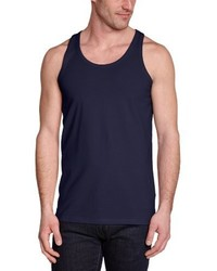Camiseta sin mangas azul marino de Jack & Jones