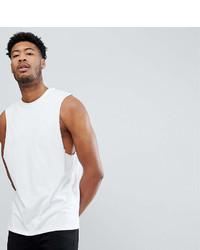 Camiseta sin mangas blanca de Asos