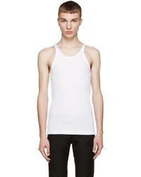 Camiseta sin mangas blanca de Dolce & Gabbana