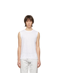 Camiseta sin mangas blanca de Isabel Marant