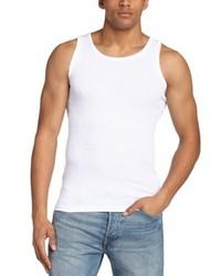 Camiseta sin mangas blanca de Minimum